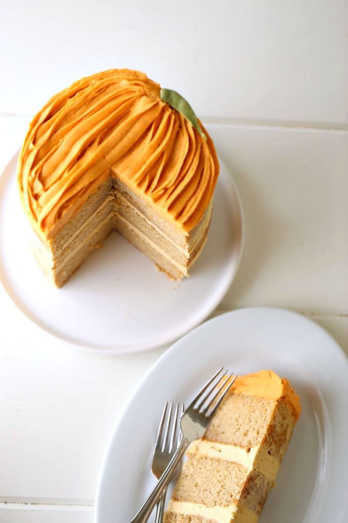three-layer-pumpkin-cake-with-pumpkin-cream-cheese-frosting-createdbydiane