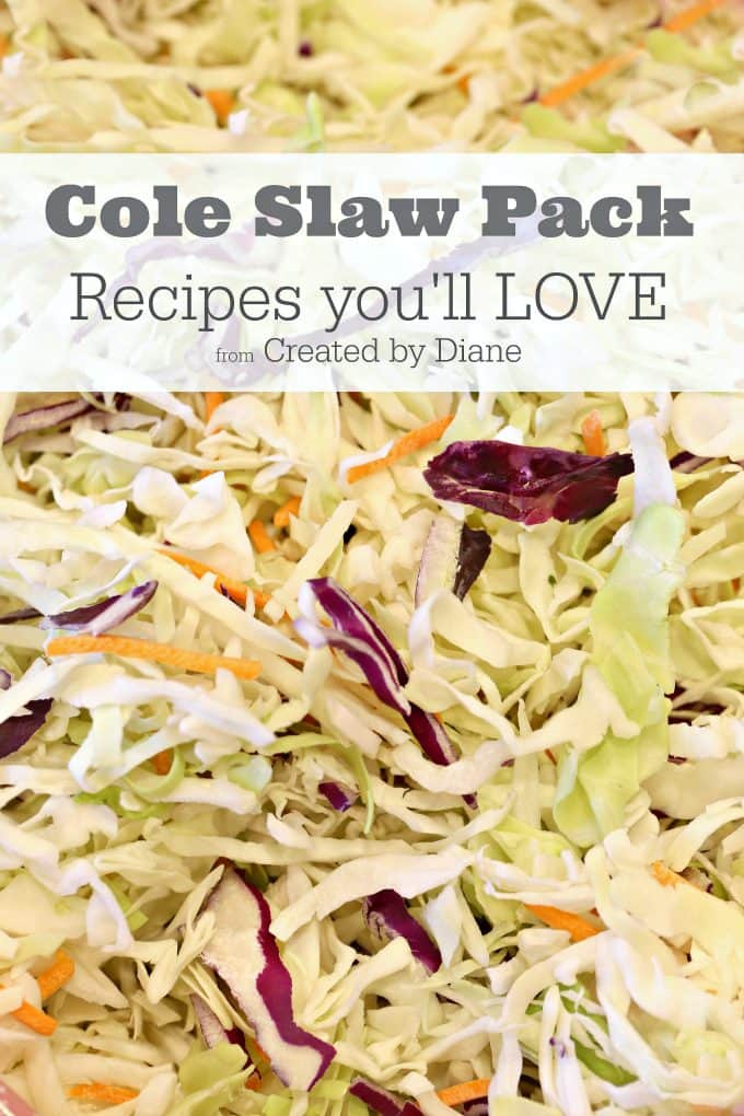 Cole Slaw Pack Created By Diane