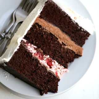 black forest cake recipe #cake #blackforest #3layercake @createdbydiane
