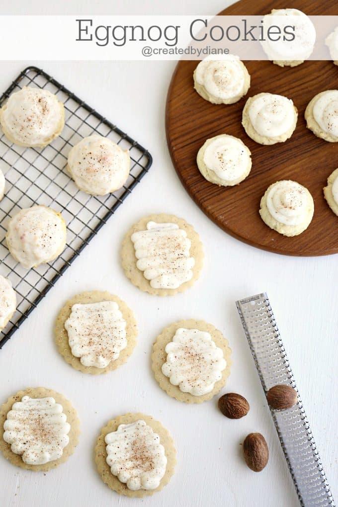 Eggnog Cookies Created By Diane