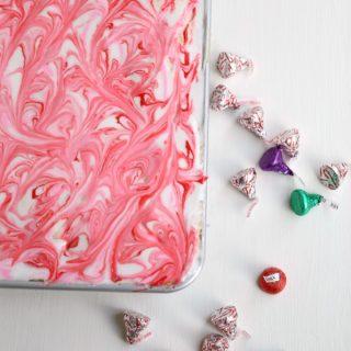 Hidden Kisses Cake