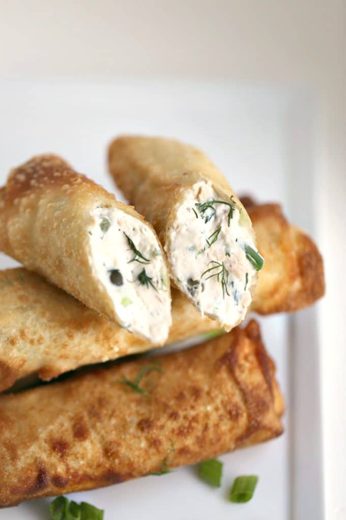 salmon-dill-capers-cream-cheese-egg-rolls-createdbydiane