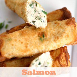 Salmon Egg Rolls