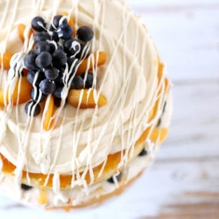 Blueberry Apricot Cake