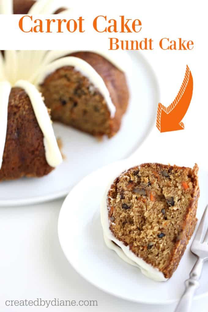 carrot bundt cake createdbydiane.com