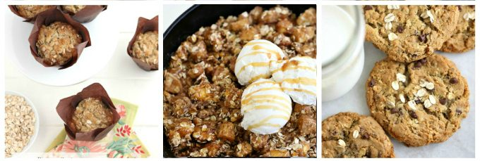 5 great oatmeal recipe collection @createdbydiane