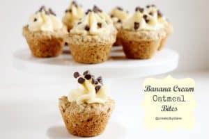Banana Cream Oatmeal Bites @createdbydiane.jpg