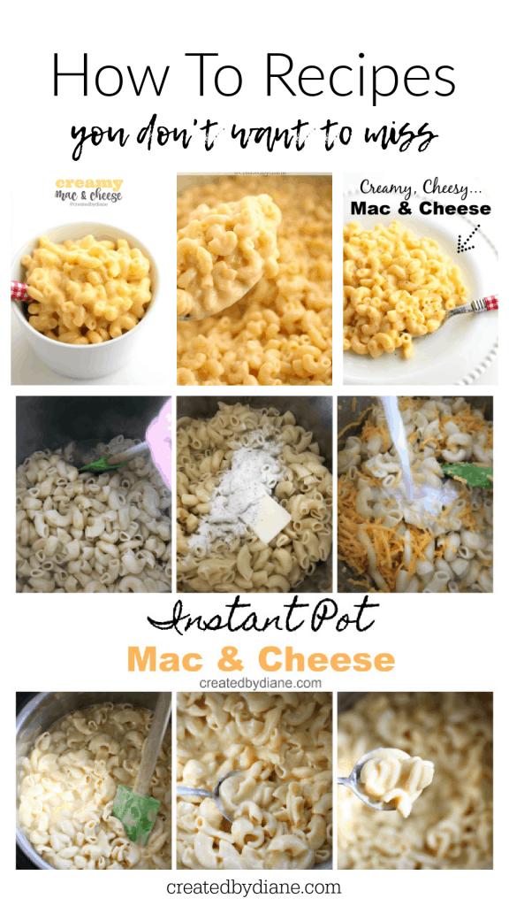 CREAMY Mac and Cheese createdbydiane.com