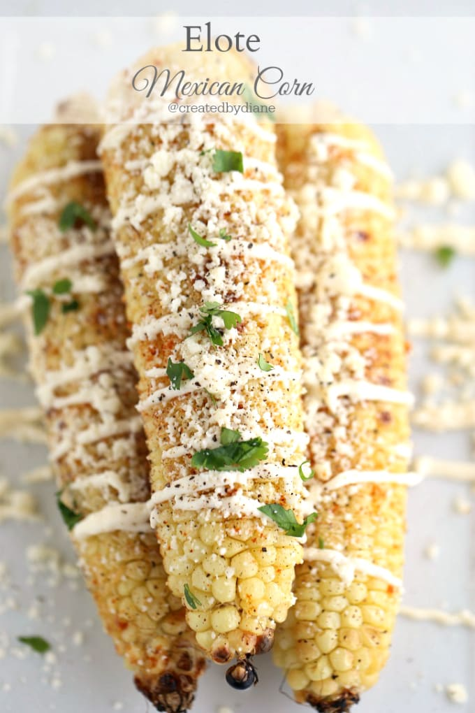 Elote Mexican Corn @createdbydiane