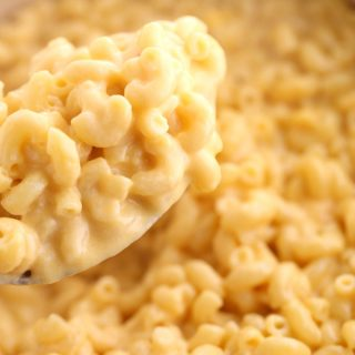 Creamy Mac and Cheese + low carb option