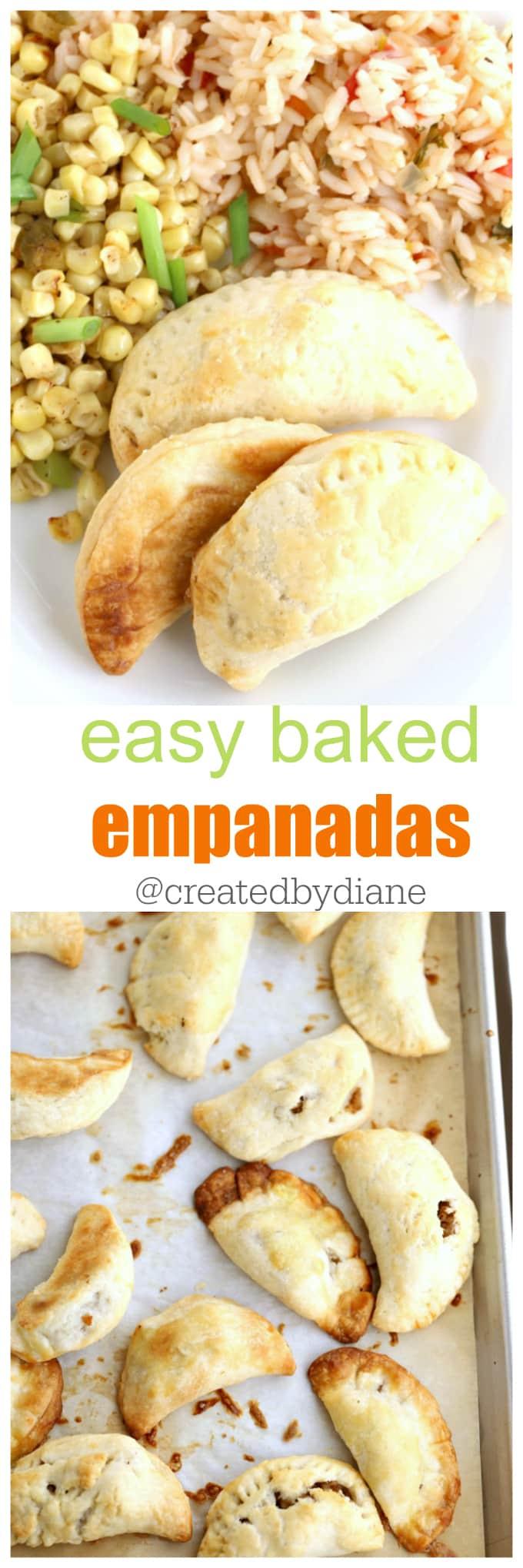 easy baked empanadas @createdbydiane
