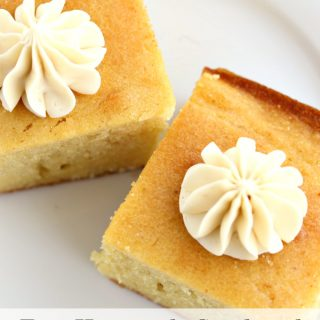Easy Homemade Cornbread with Honey Butter
