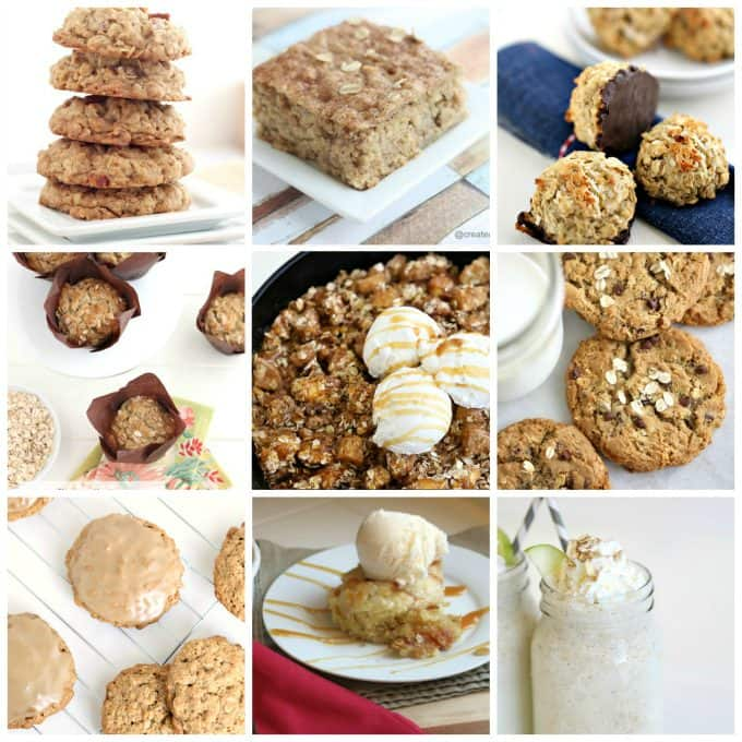 great oatmeal recipe collection @createdbydiane