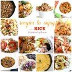 recipes to enjoy with rice @createdbydiane