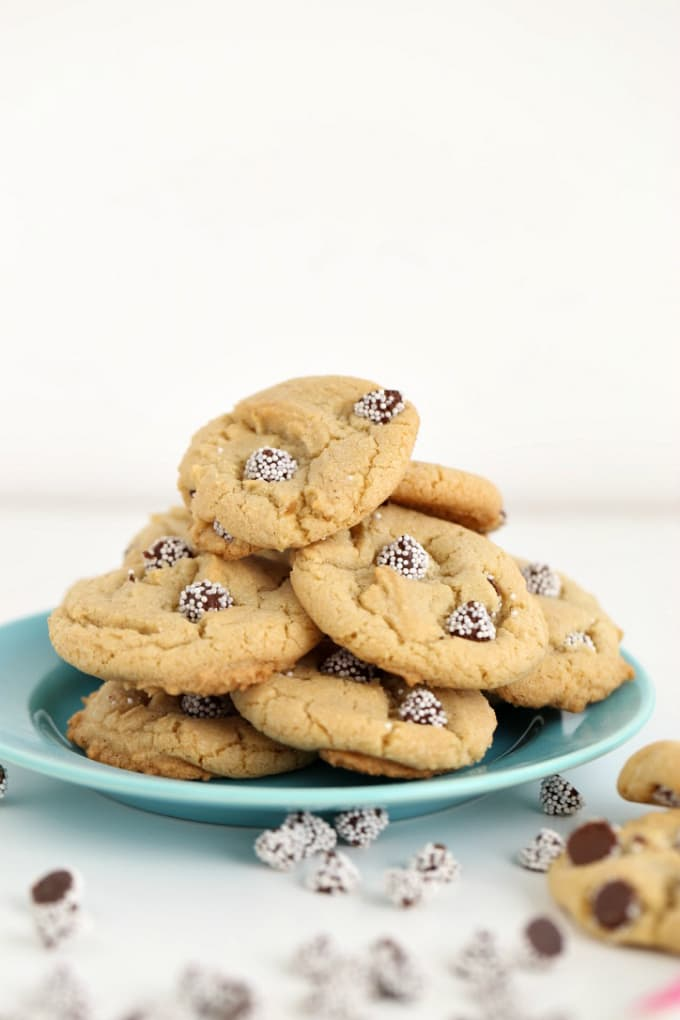 snowcap candy in cookies @createdbydiane