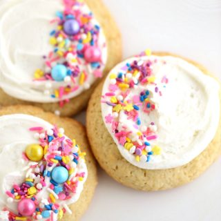 soft sugar cookie recipe @createdbydiane
