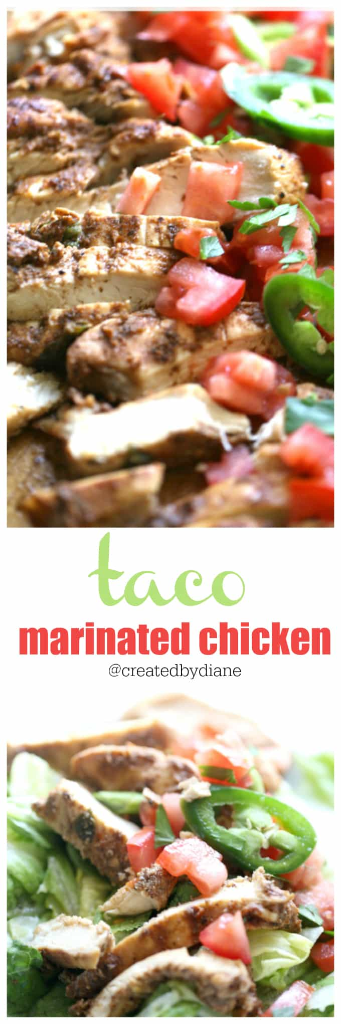 taco marinade recipe taco chicken, @createdbydiane