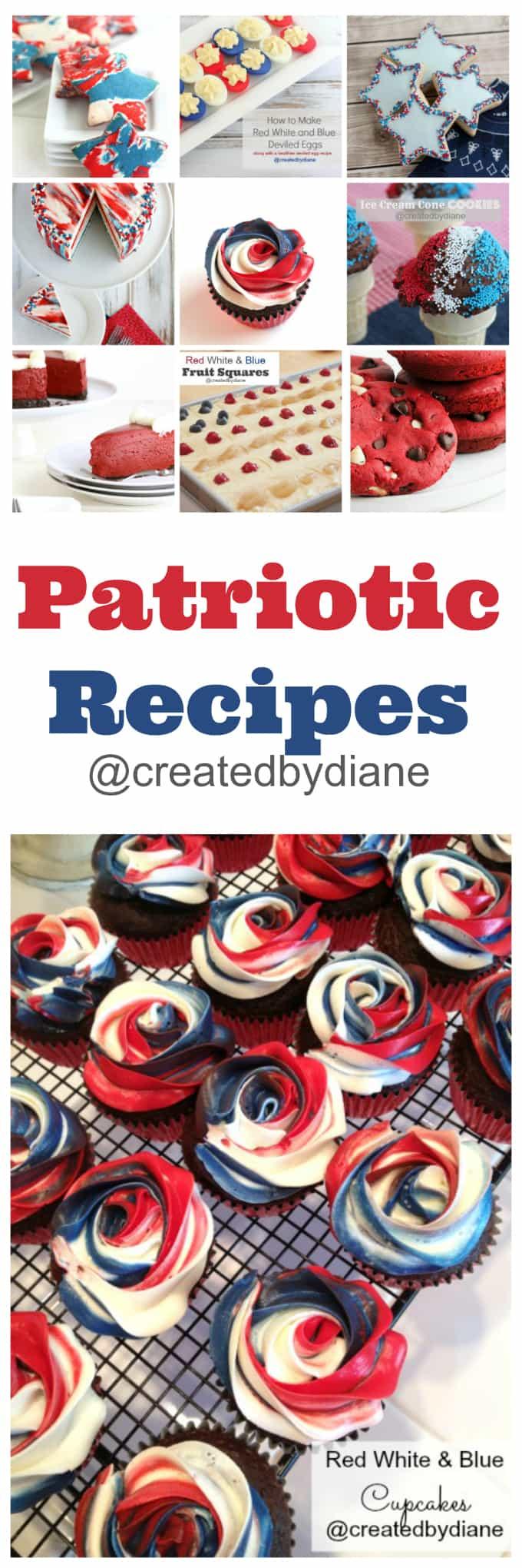 patriotic recipes from @createdbydiane