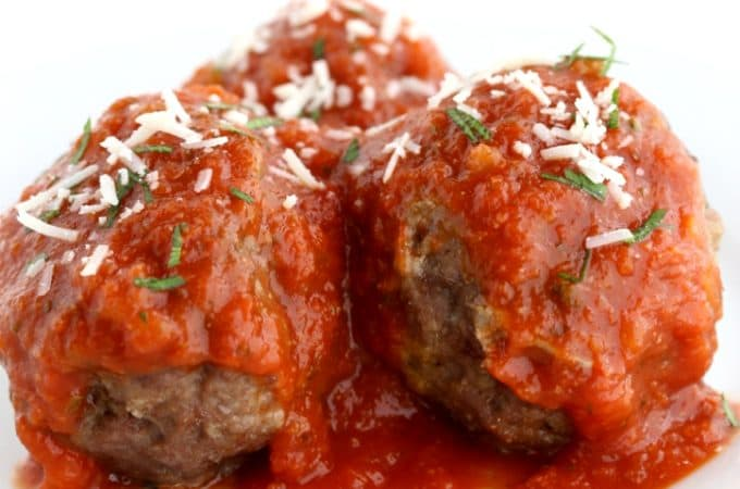 Easy Meatball Recipe @createdbydiane