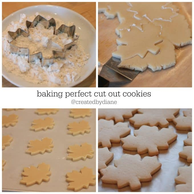 baking perfect cut out cookies @createdbydiane