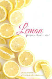 lemon recipe collection that every lemon lover must have