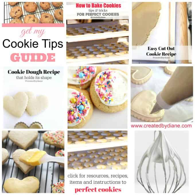the BEST Cookie Advice and Tips to make delicious cookies www.createdbydiane.com