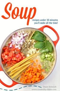 20 recipes for soup that are ready in 30 minutes @createdbydiane