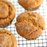 Pumpkin Muffin Recipe @createdbydiane