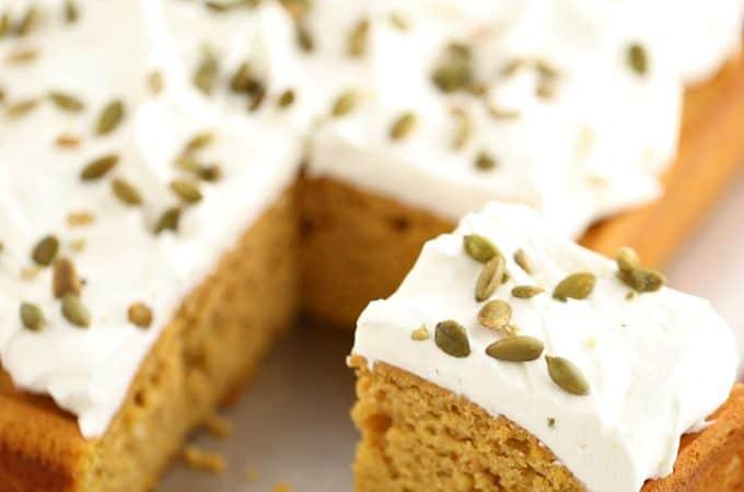 Pumpkin Sheet Cake @createdbydiane