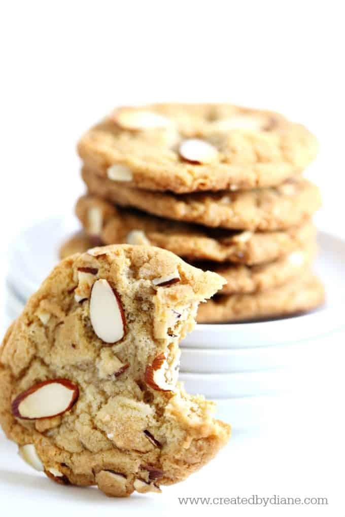 Almond Cookies www.createdbydiane.com