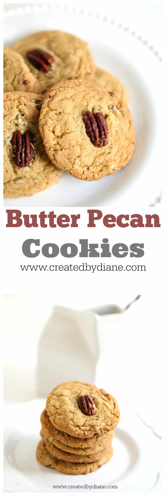 Butter Pecan Cookie Recipe from www.createdbydiane.com