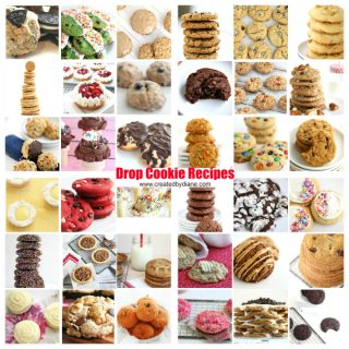Drop Cookie Recipe Round Up from www.createdbydiane.com