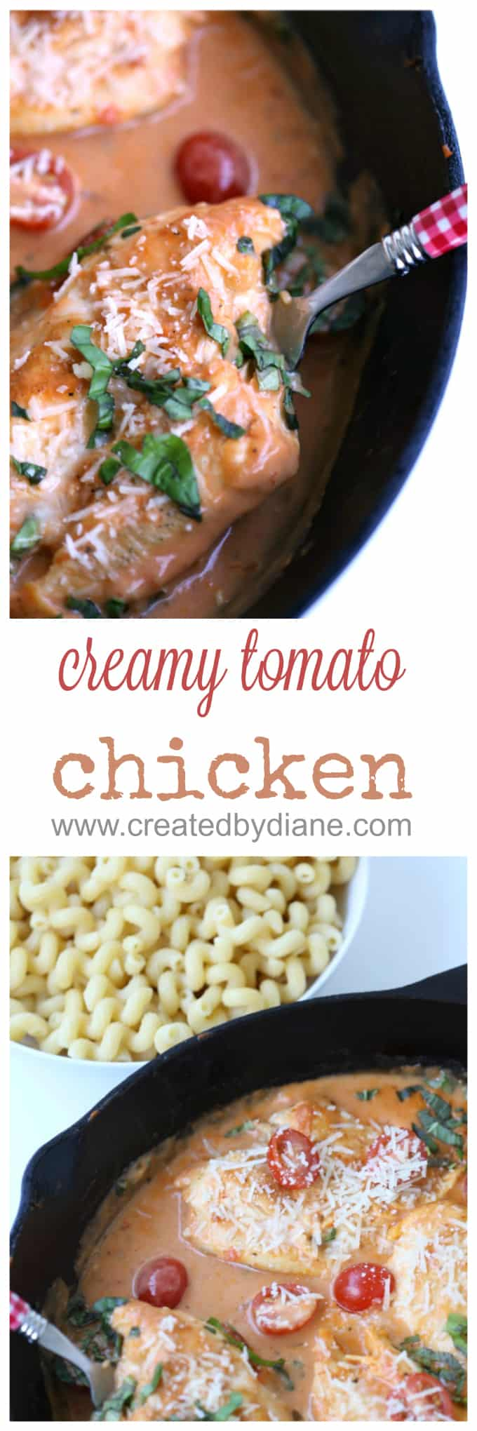 Creamy Tomato Chicken Created By Diane