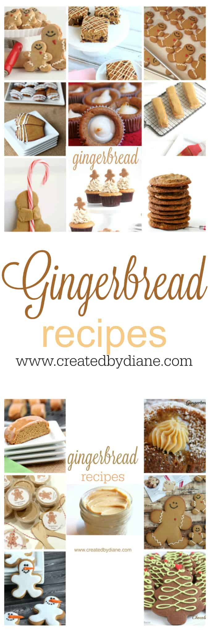 gingerbread recipes from food blogger www.createdbydiane.com
