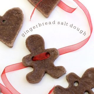gingerbread salt dough