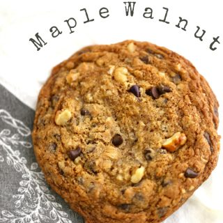 maple walnut cookies www.createdbydiane.com