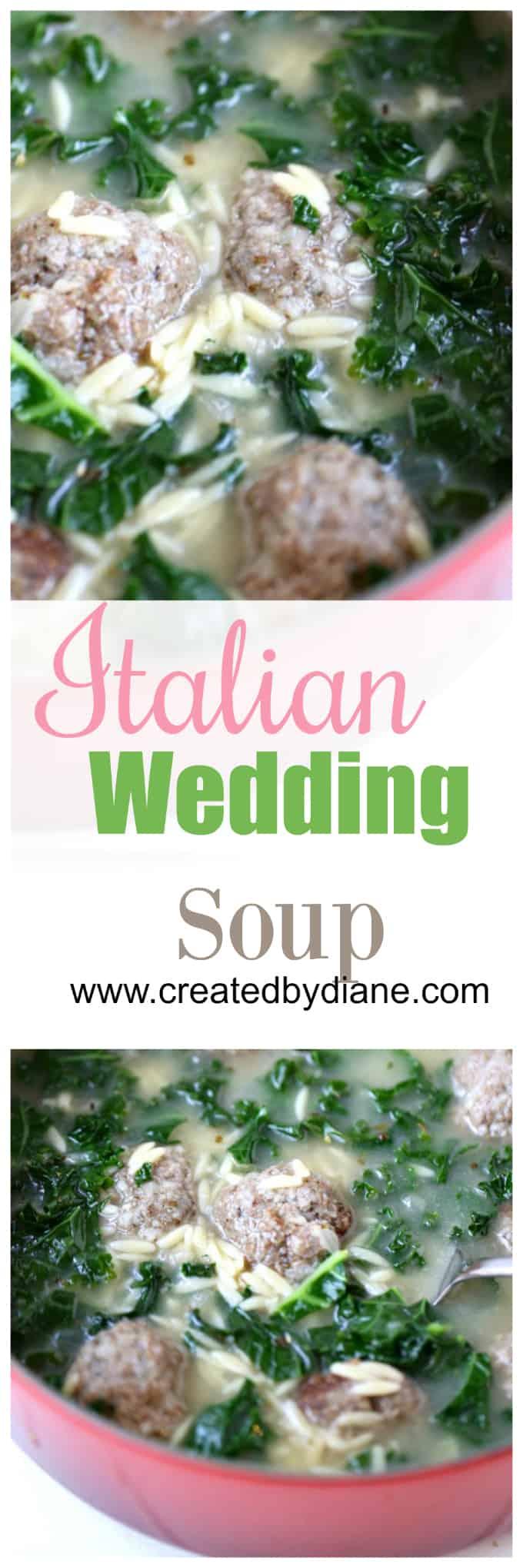 Italian Wedding Soup www.createdbydiane.com