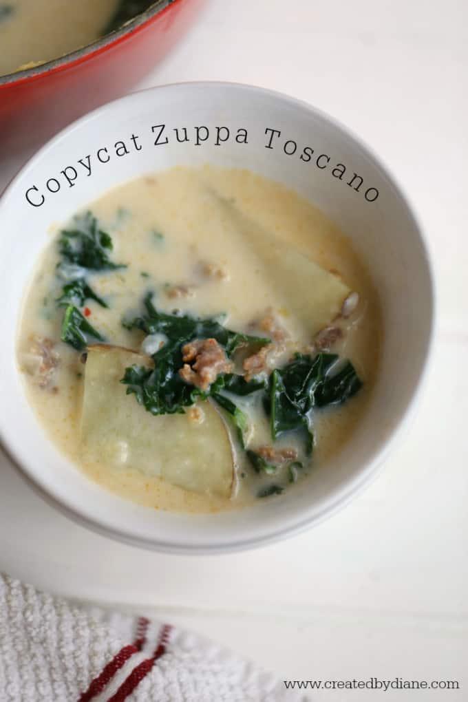 copycat zuppa toscano recipe from www.createdbydiane.com