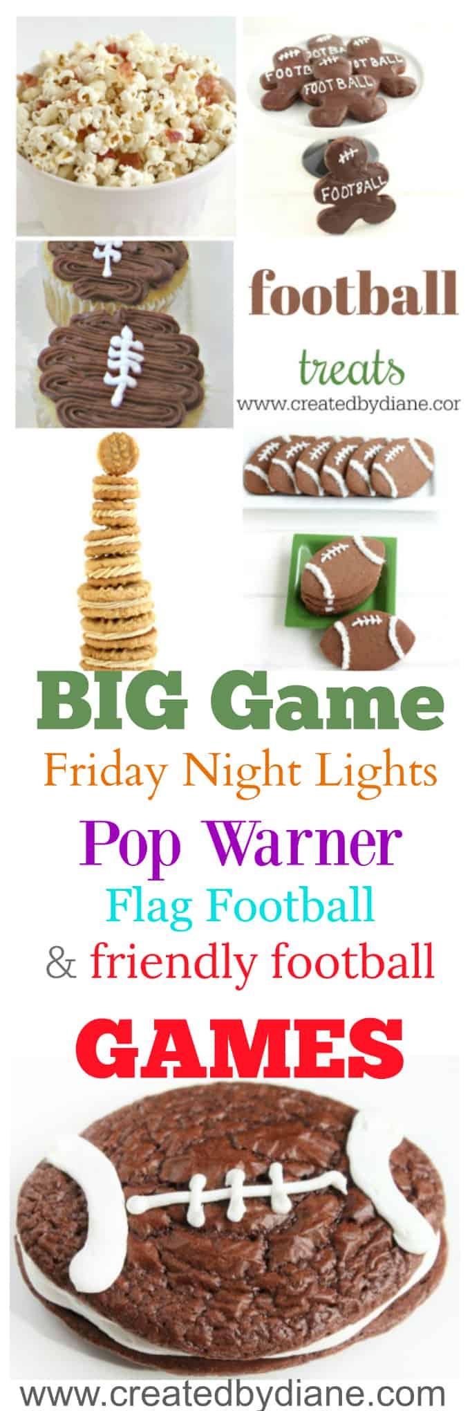 football themed food for team party ideas,