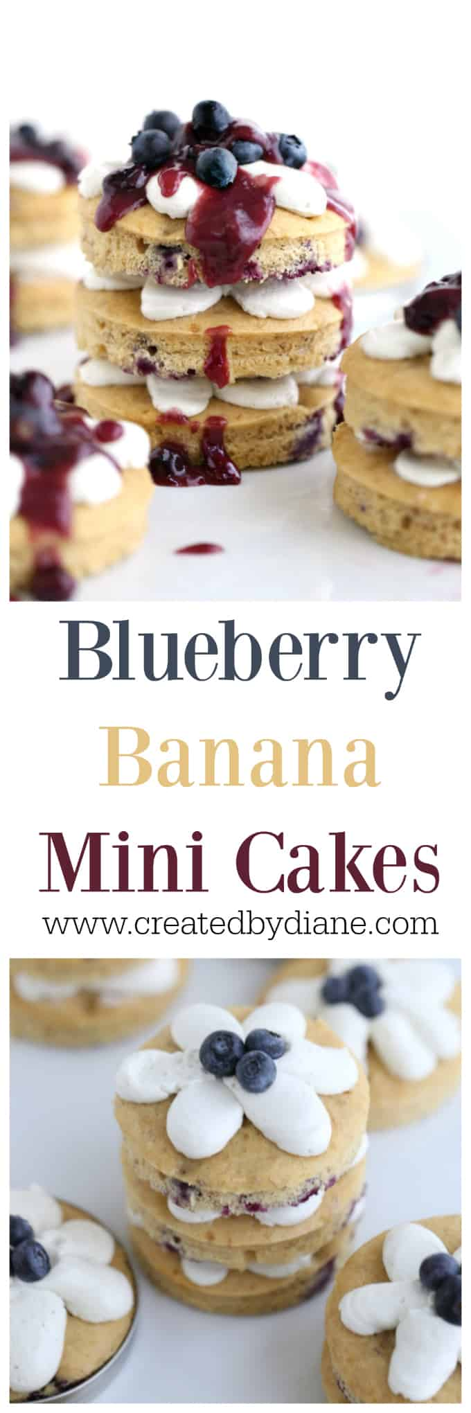 blueberry banana cake www.createdbydiane.com