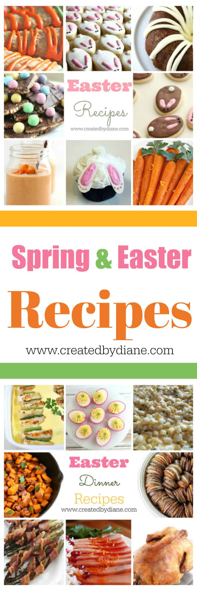 spring and Easter reicpes