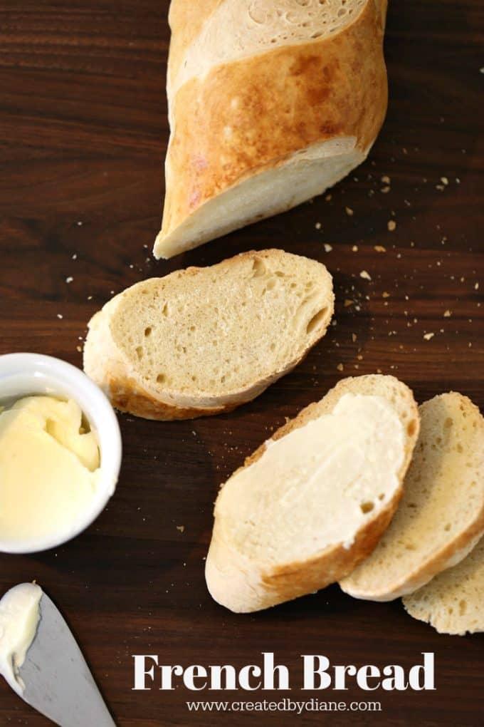 French Bread Recipe www.createdbydiane.com