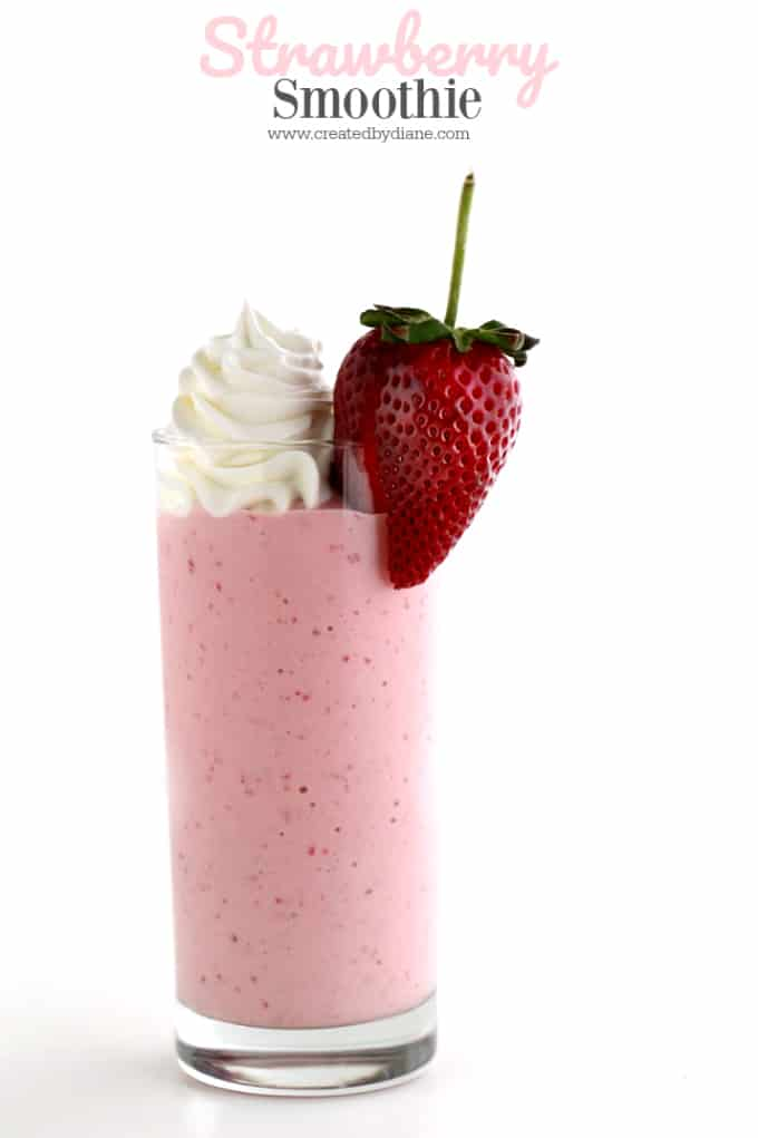 Strawberry Smoothie Created By Diane