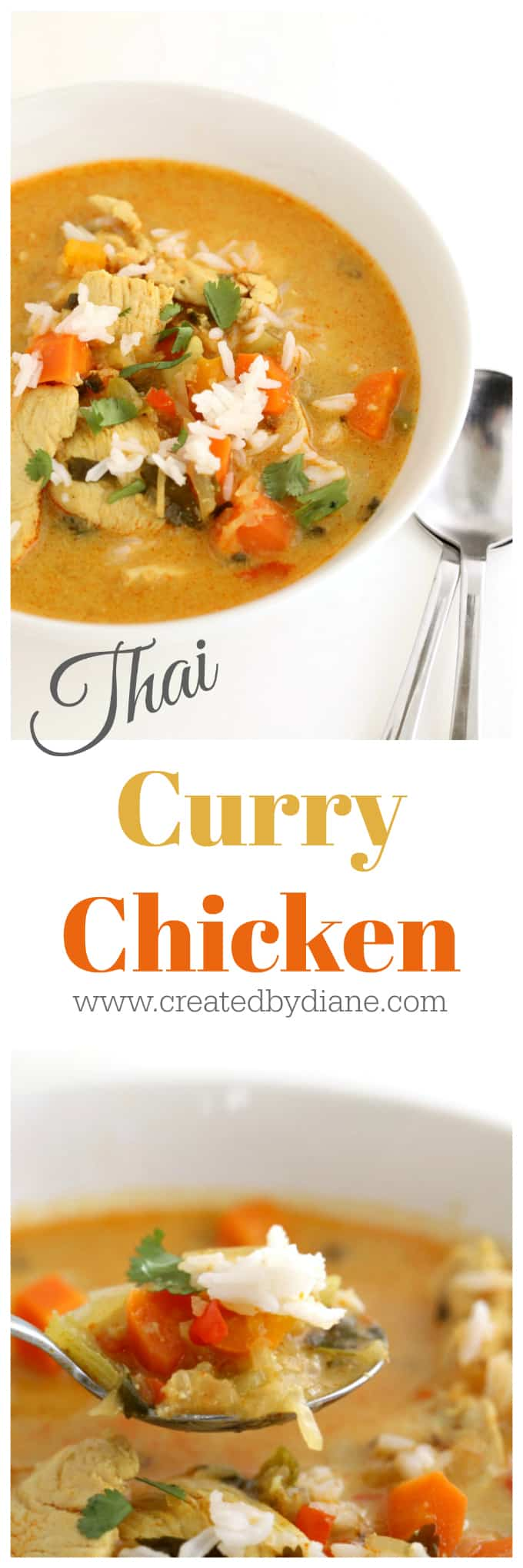Thai Curry Chicken www.createdbydiane.com