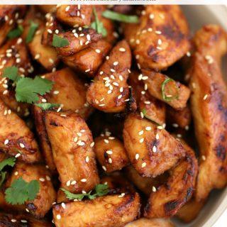 Asian BBQ Chicken recipe www.createdbydiane.com
