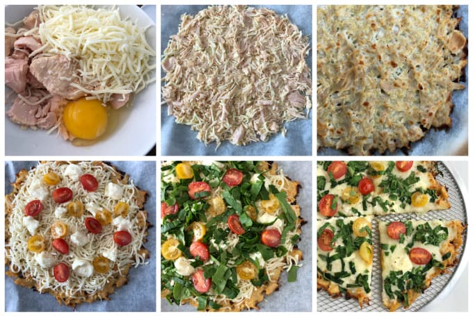 all chicken pizza crust www.createdbydiane.com