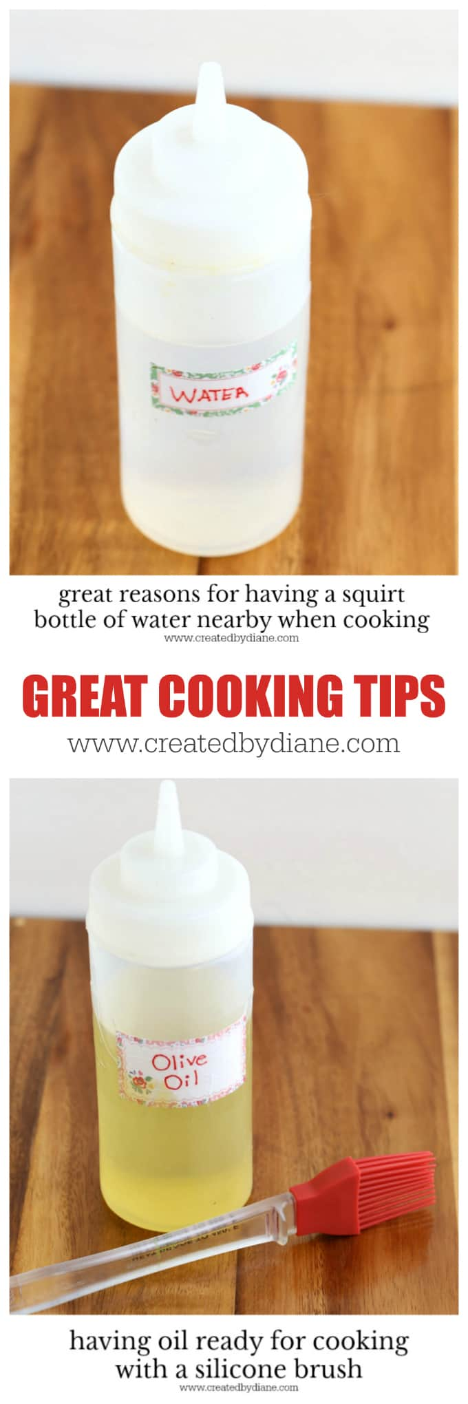 great cooking tips www.createdbydiane.com