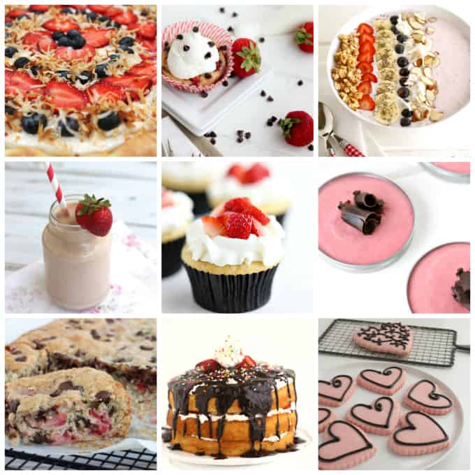 strawberry recipes from desserts, breakfast, sweets, pies, www.createdbydiane.com