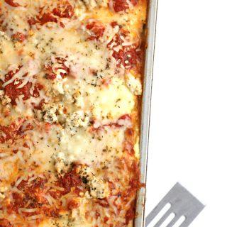 zucchini noodle lasagna www.createdbydiane.com
