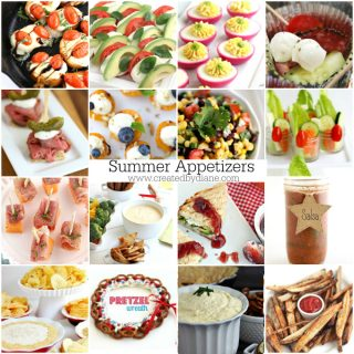 fun summer appetizer recipes you'll love www.createdbydiane.com